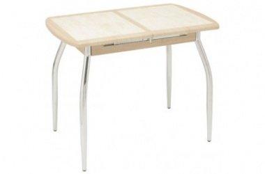 Столы с керамической плиткой.